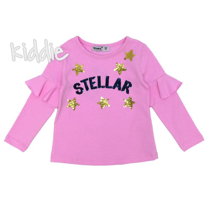 Bluza de fete Stellar Wanex