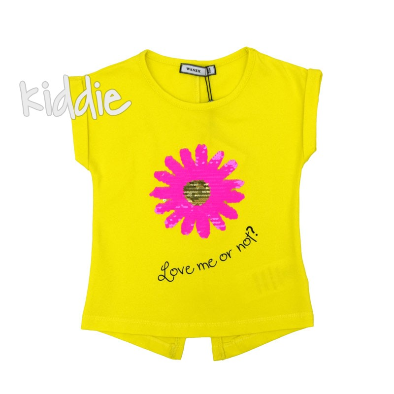 Tricou Wanex Love me or not fete