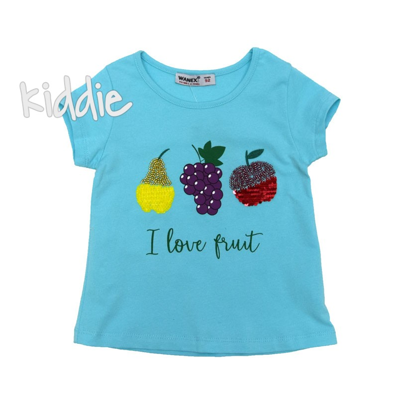 Tricou fete  I love Fruit Wanex