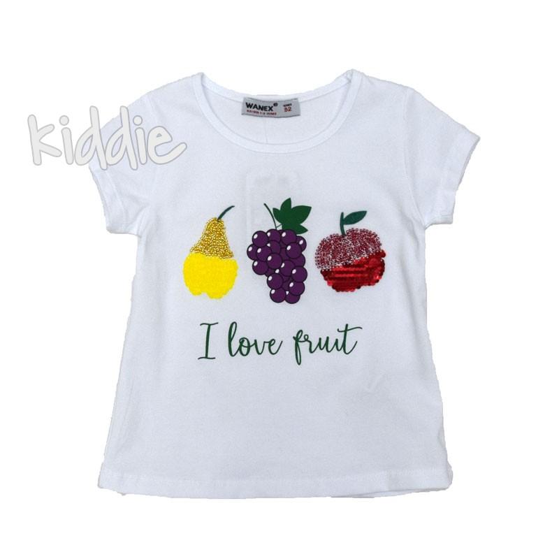 Tricou fete  I love Fruit Wanex