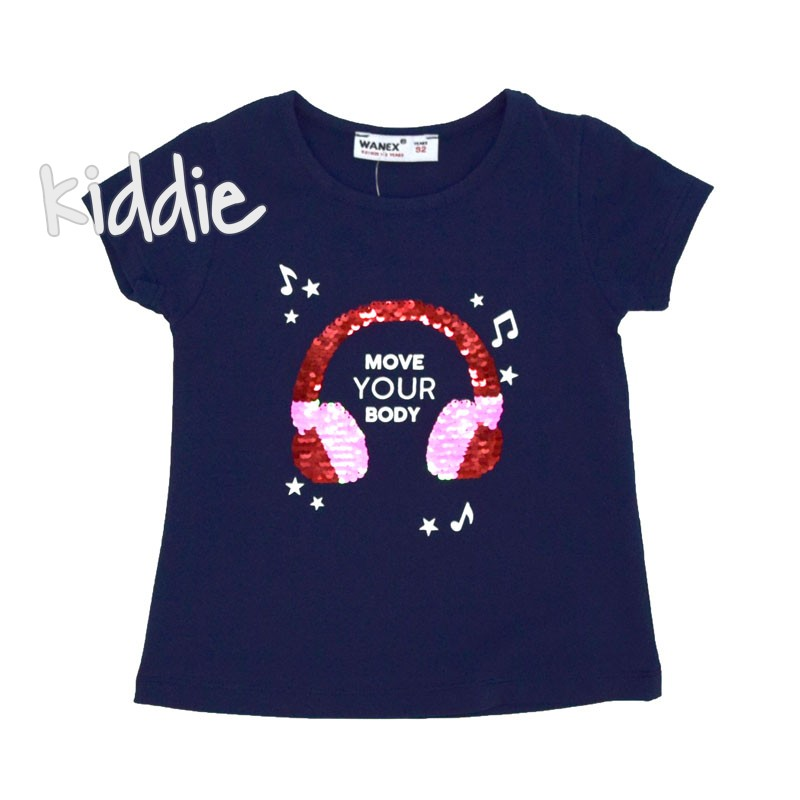 Tricou fete Move Your Body Wanex