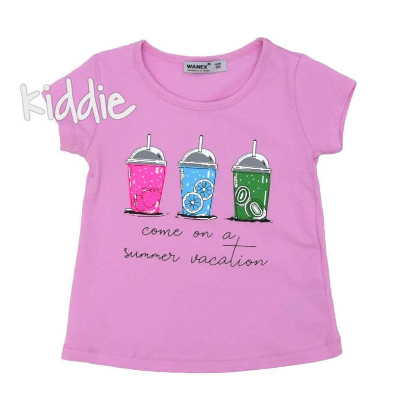 Tricou fete Summer Vacation Wanex