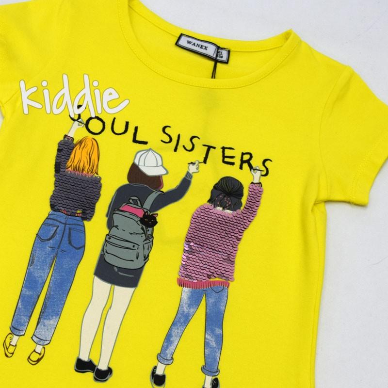 Tricou pentru fete Wanex Soul sisters