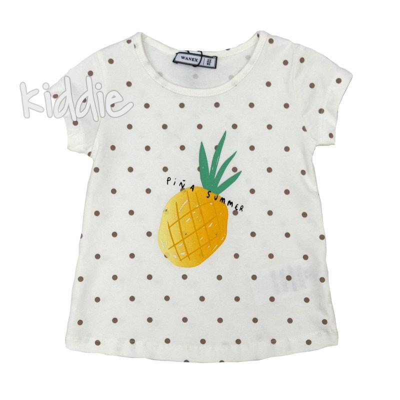 Tricou Ananas Wanex cu buline fete