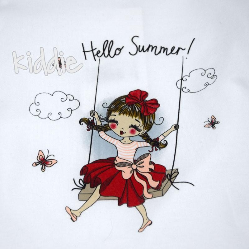 Set trei piese fete Hello Summer, Baby Rose