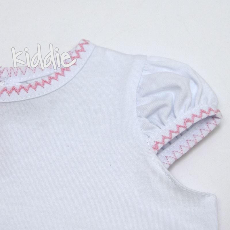 Salopeta Sermino cu tricou fete