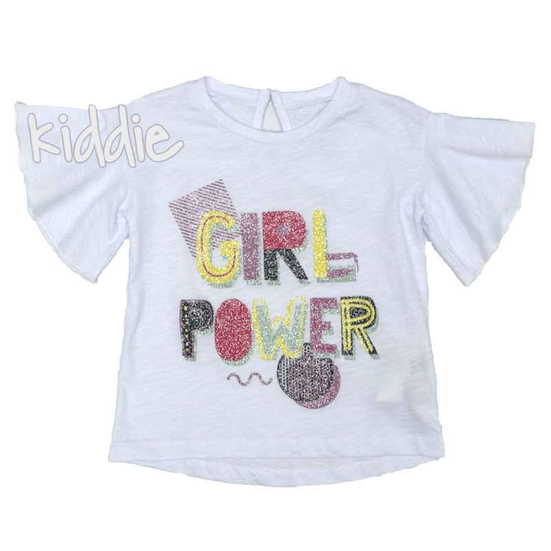 Tricou fete Girl power Cikoby