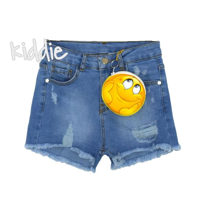 Pantaloni scurti Cikoby Smile fete