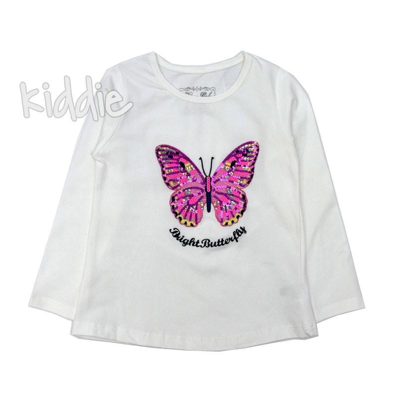 Bluza Breeze cu fluturas fete