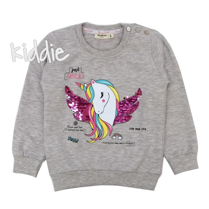Bluza Unicorn Breeze pentru fete
