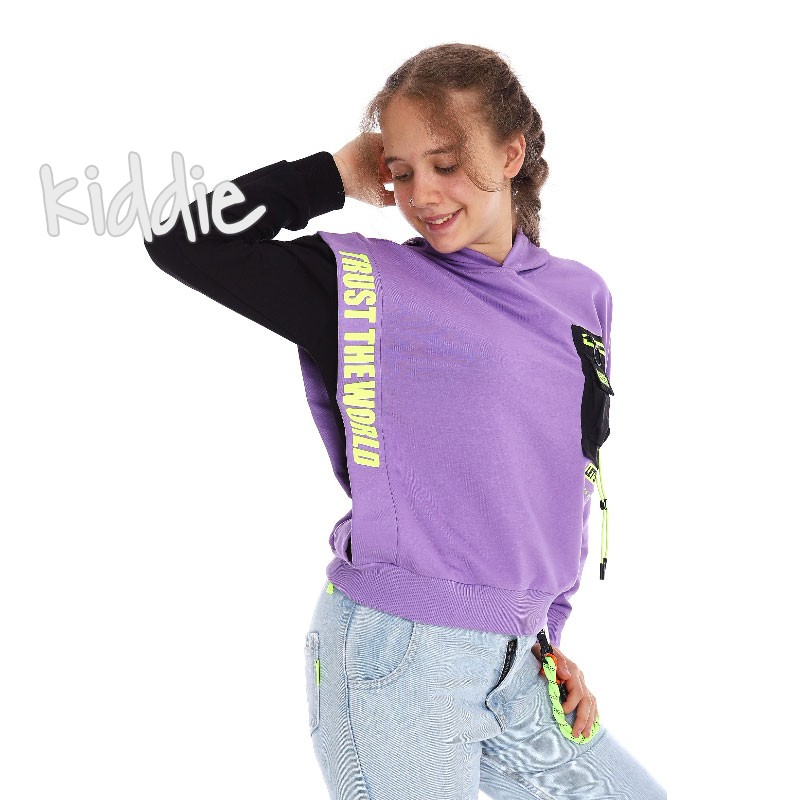 Bluza Loco Loco pentru fete