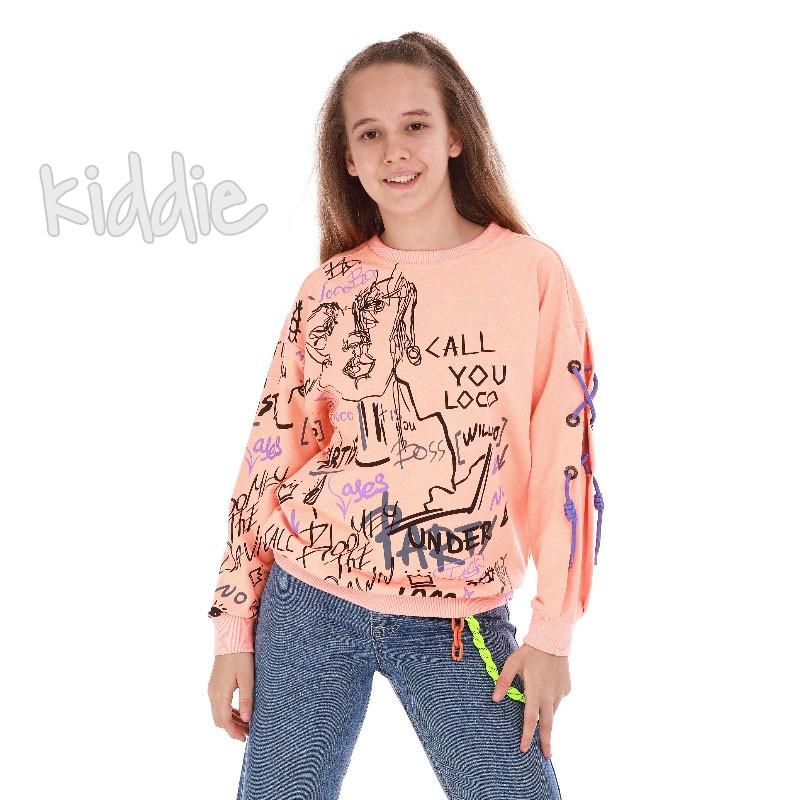 Bluza pentru fete  Loco Loco