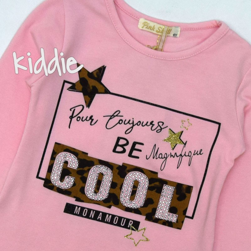 Bluza Cool fete Pink Shell