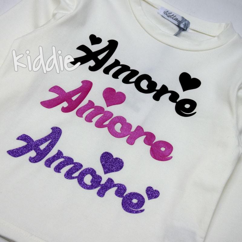 Bluza fete  Amore Lollitop