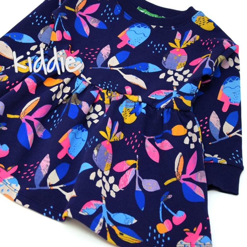 Rochie florala Cichlid copii