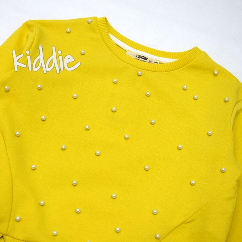 Bluza cu perle pentru fete Cikoby