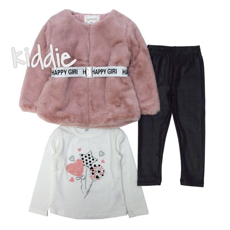 Bluza cu paltonas Karino Kids fete