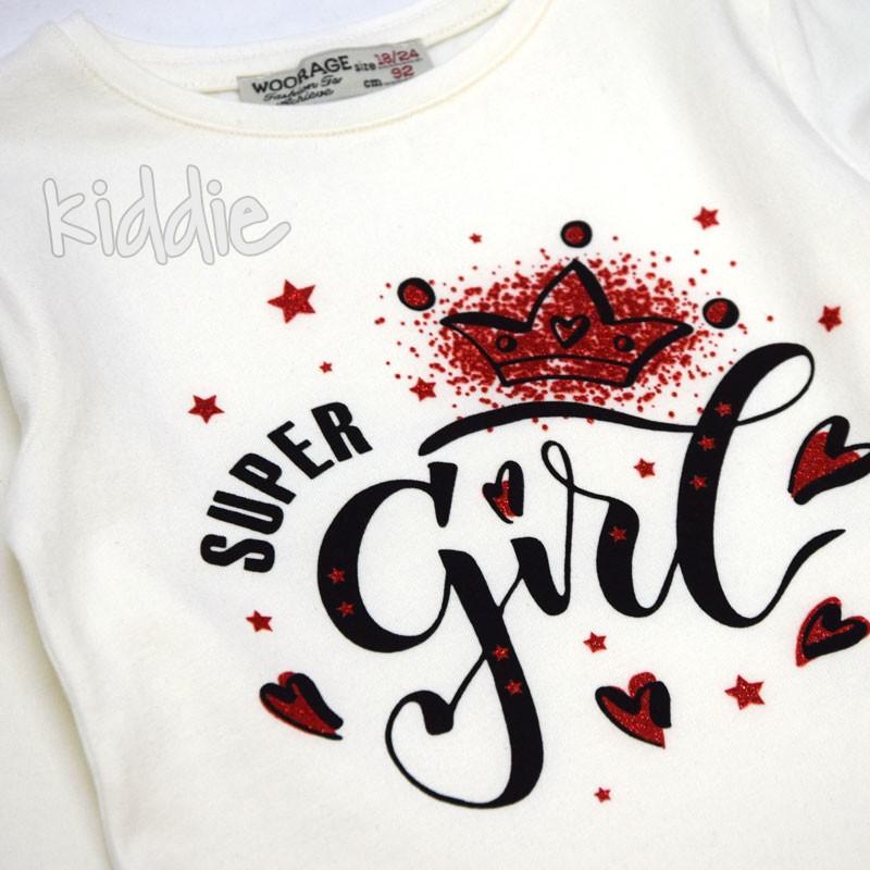 Bluza Super Girl Woorage fete
