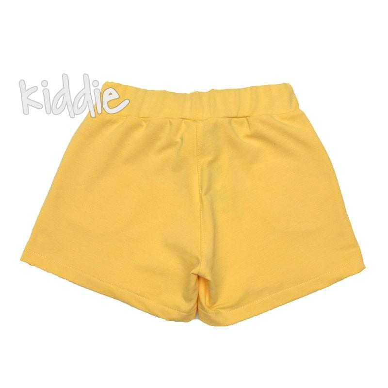 Pantaloni scurti fete Contrast