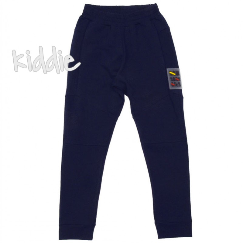 Pantaloni sport baieti Contrast