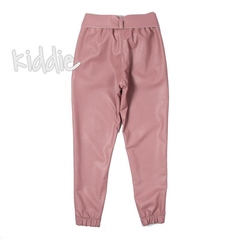 Pantaloni din piele Contrast fete