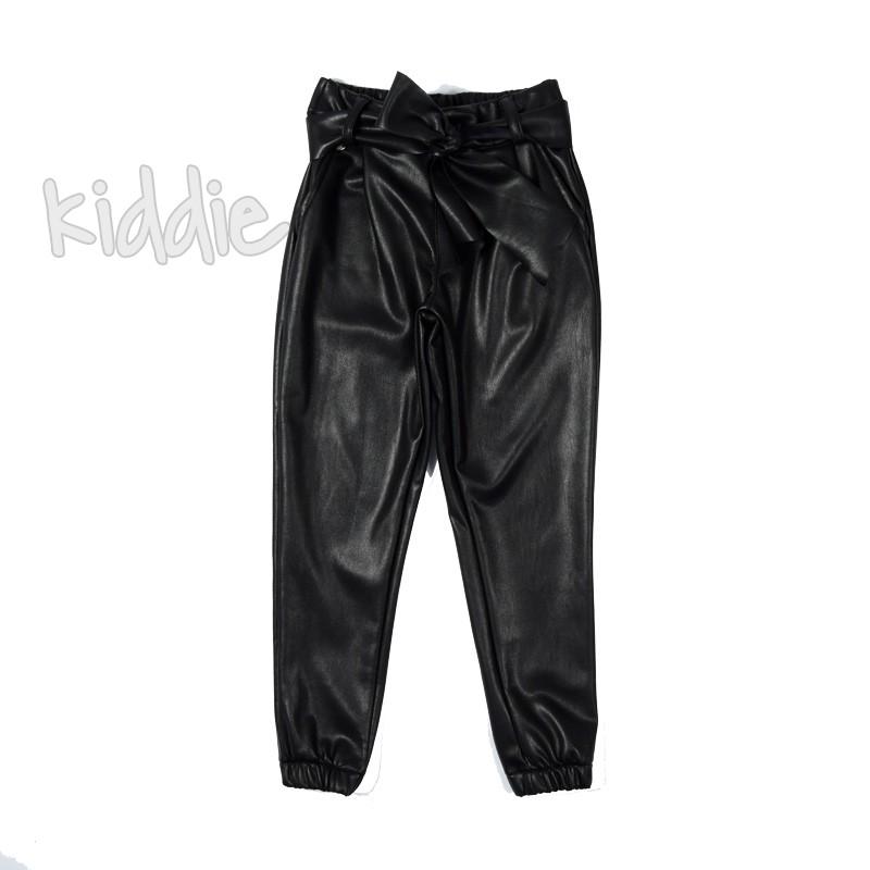 Pantaloni piele Contrast copii