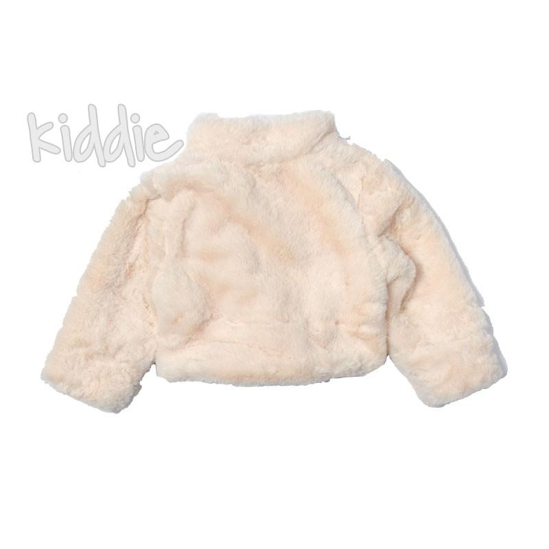 Palton pufos bebe Contrast