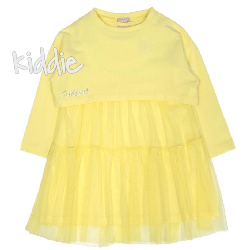 Rochie cu bluza Contrast fete