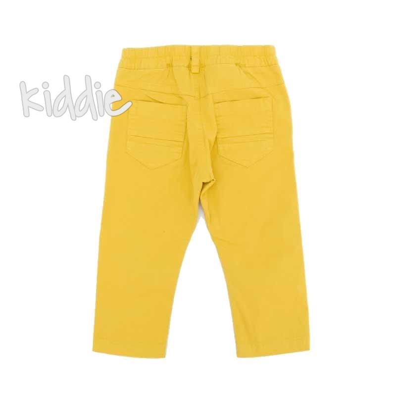 Pantaloni bebe Contrast baiat