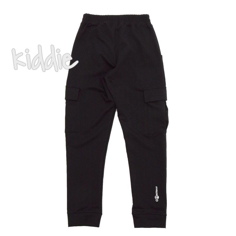 Pantaloni sport cu buzunare Contrast baieti