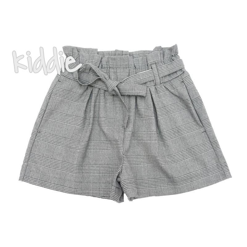 Pantaloni cu talie inalta Contrast fete