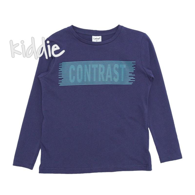 Bluza cu scris Contrast baiat