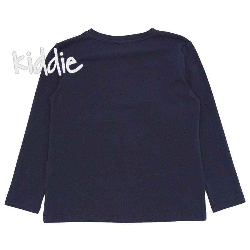 Bluza cu imprimeu scris Contrast baiat