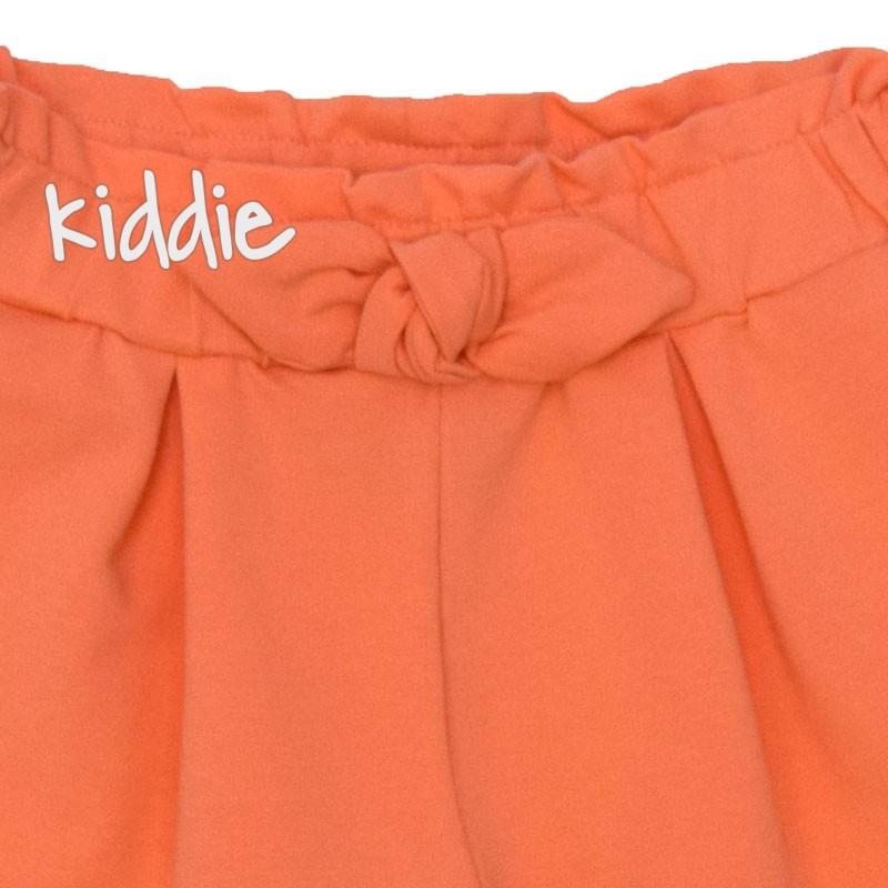 Pantaloni scurti cu fundita Contrast fete