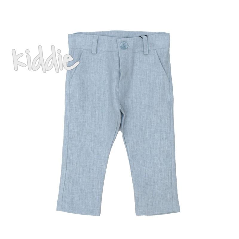 Pantaloni din in Contrast baieti