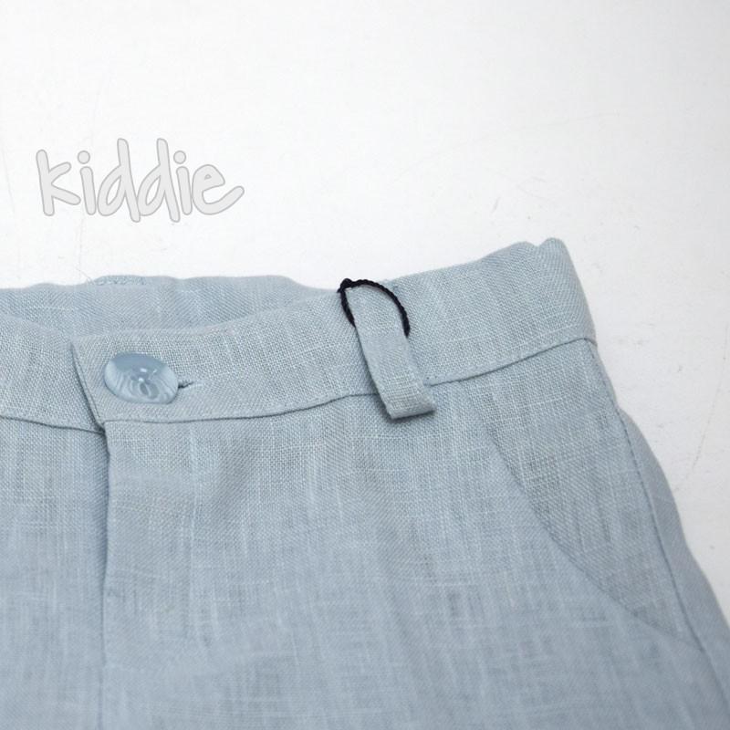Pantaloni scurti din in Contrast baieti