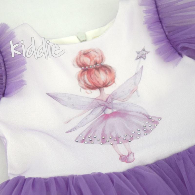 Rochie Fairy Contrast copii
