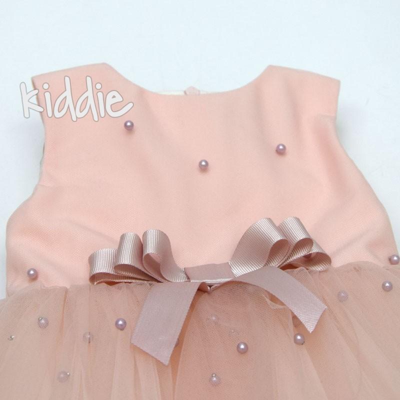Rochie cu perle Contrast copii