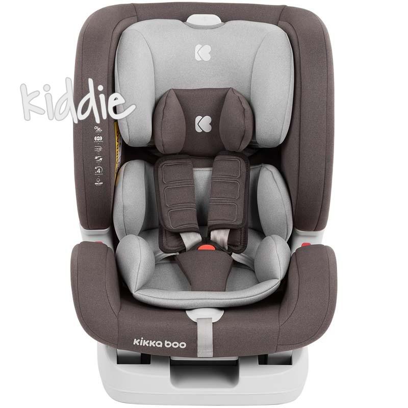 Scaun auto  0-1-2-3 0-36 kg Kikka Boo 4in1 Brown 2020