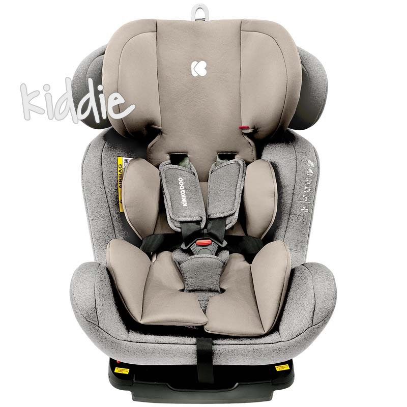 Scaun auto 0-1-2-3 0-36 kg4 Kikka Boo Safe с Isofix Light Grey 2020