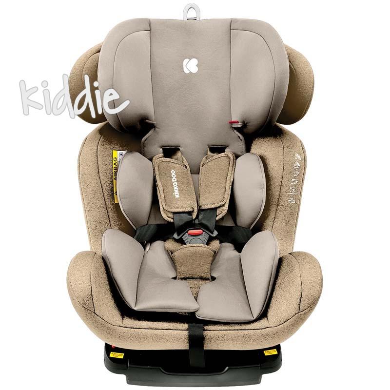 Scaun auto 0-1-2-3 0-36 kg 4 Safe с Isofix Beige Kikka Boo 2020