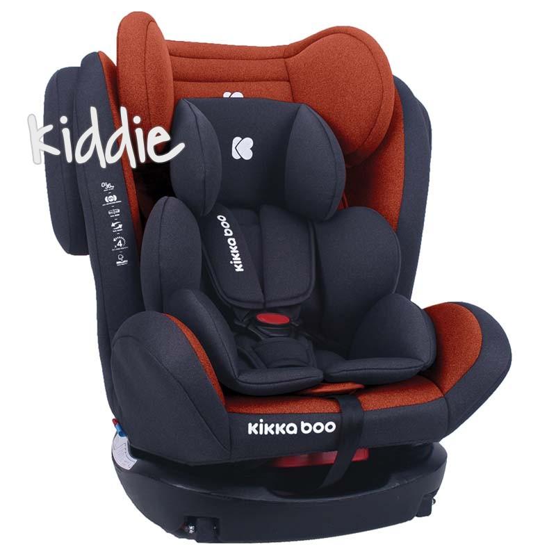 Scaun auto 0-1-2-3 0-36 kg 4 Fix Orange Kikka Boo 2020
