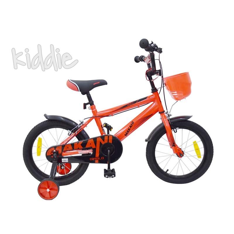 Bicicleta copii 16 Diablo Red Kikka boo Makani