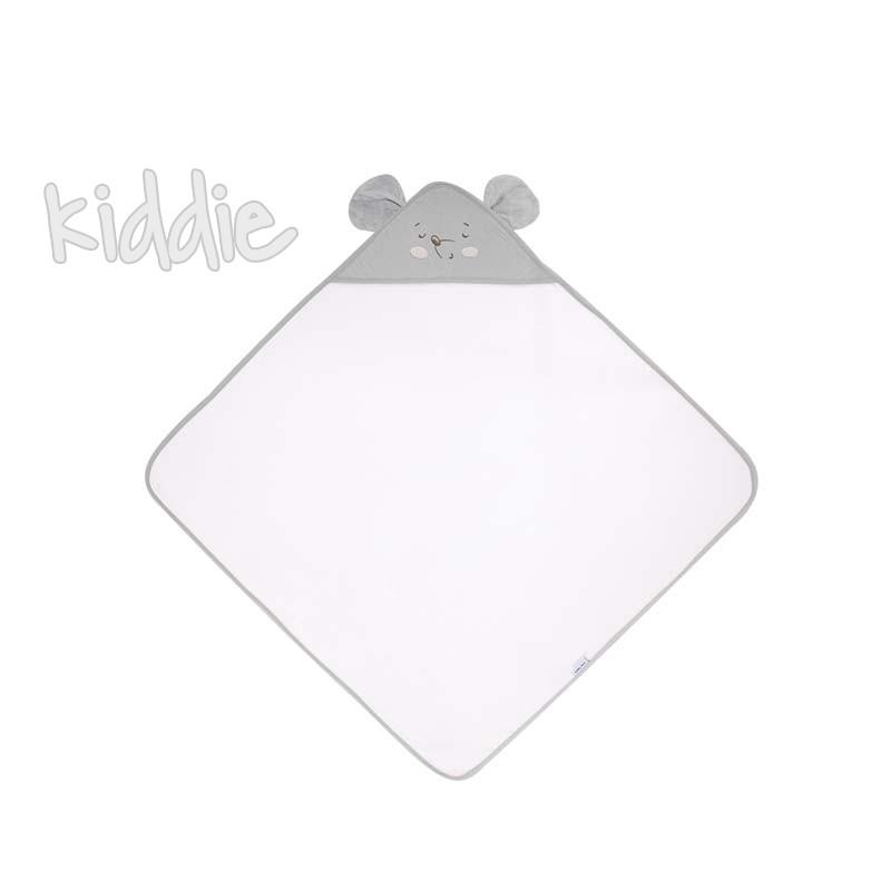 Prosop cu gluga Kikka Boo 90x90 Joyful Mice
