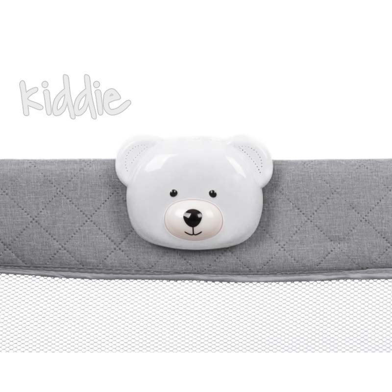 Cutie muzicala cu vibratie si lumini Kikkaboo Bear