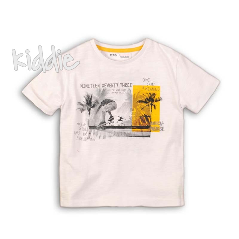 Tricou baiat Minoti Paradise cu print
