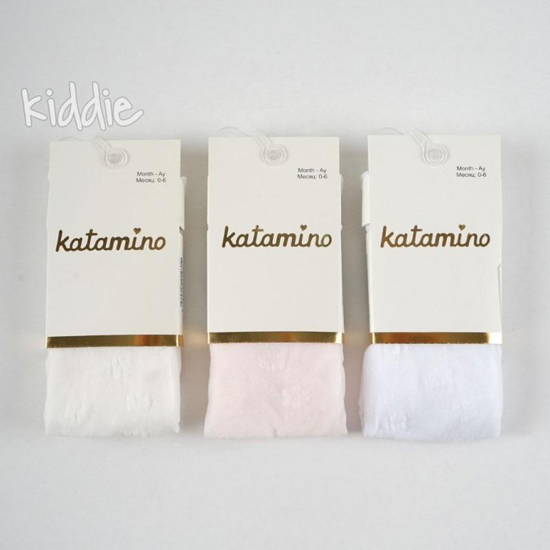 Dres cu flori Katamino bebe