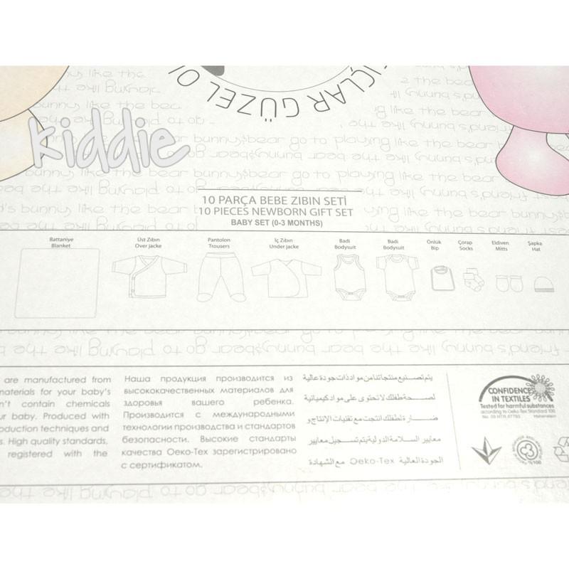 Set bebe Bebitof cu print 10 piese