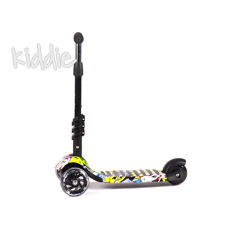 Kikka Boo trotineta 3 in 1 Ride and Skate Scretch