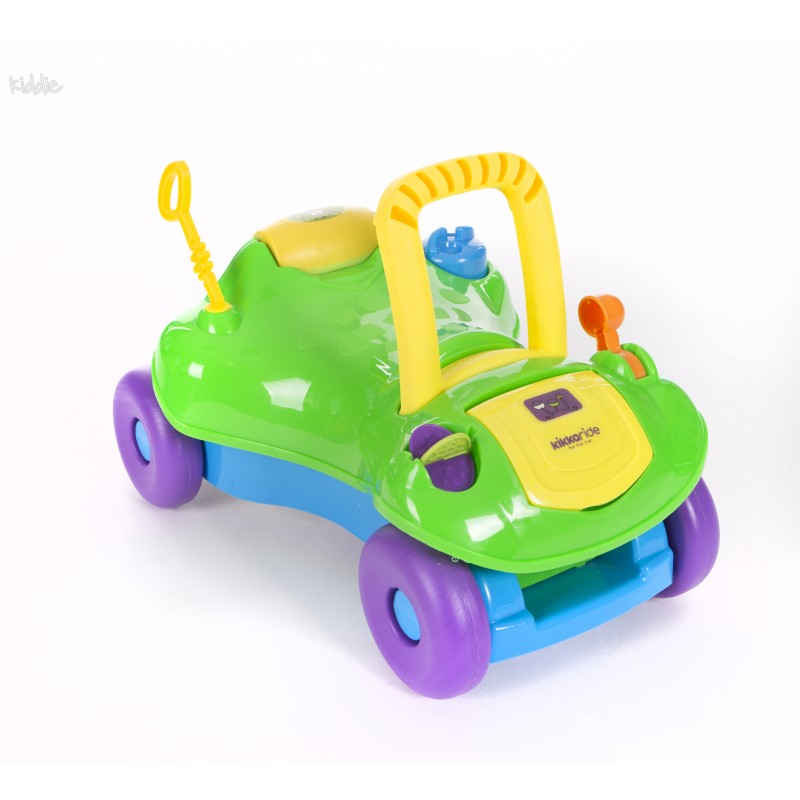 Masinuta bebe Kikka Boo Ride-on 2 in 1 Green